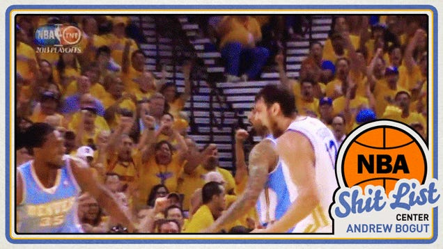 NBA Shit List: Andrew Bogut, The Honky Messiah