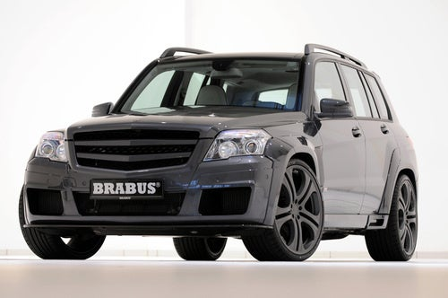 200 MPH Brabus GLK V12: Press Photos