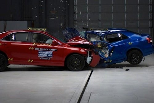 IIHS Fires Back, Tells Toyota To Put Cars Where Its Mouth Is