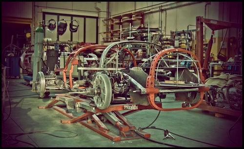 1947 Ferrari 166 Spyder Corsa Restoration