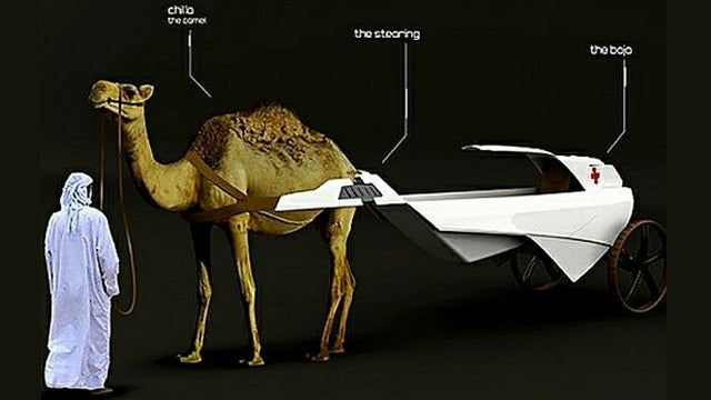 Did someone call for a Cambulance? Part Camel, Part Ambulance, All Awesome