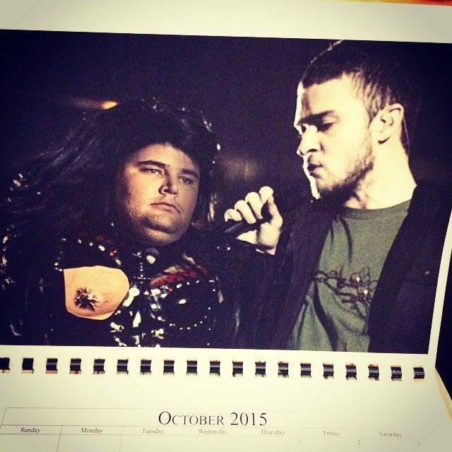 Guy Loses Fantasy League, Has To Make Embarrassing Photo Calendar