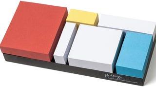 Mondrian Sticky Notes Make Every Reminder a Masterpiece