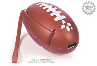 Wiimote Football Thwarts Everything We've Worked For