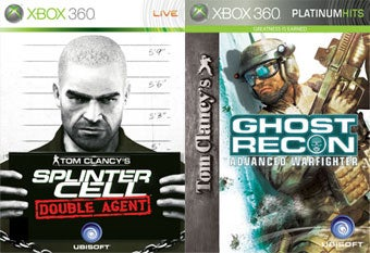 Splinter Cell: Double Agent And GRAW Now Slightly On Demand