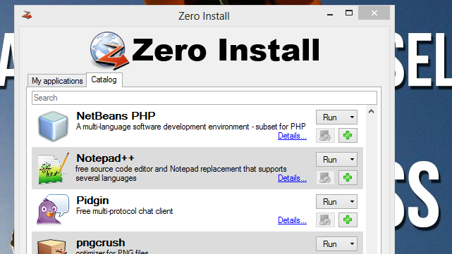 Zero Install Downloads, Updates, and Runs Apps Without Installing