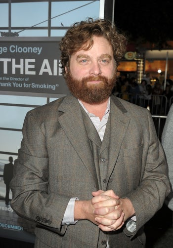 Zach Galifianakis Will Be Weird and Funny in Upcoming Film