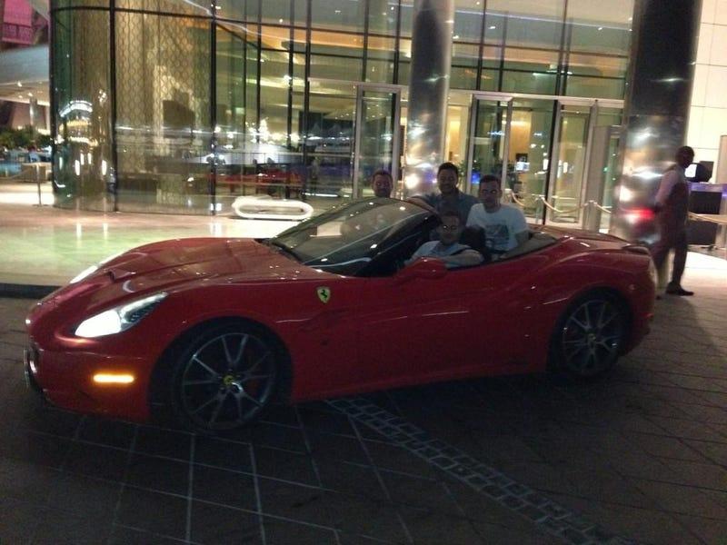 F1 Driver Calls The Ferrari California A Shitbox Soft Top For Softcocks