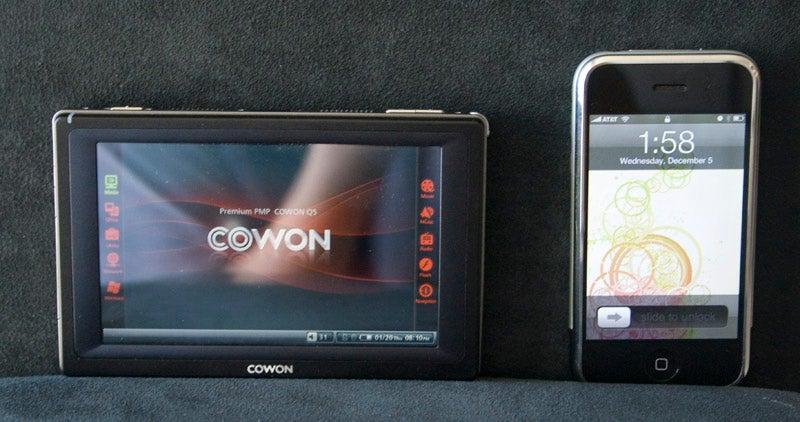 Cowon Q5W DivX/GPS PMP Review (Verdict: Fantastic)