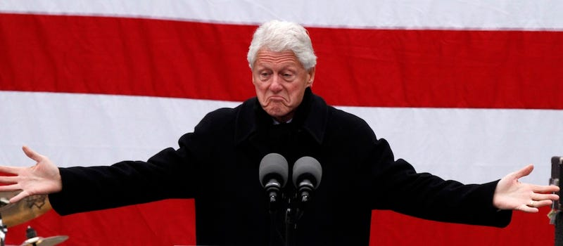 "Bill Clinton Says The War on Drugs ""Hasn't Worked"""