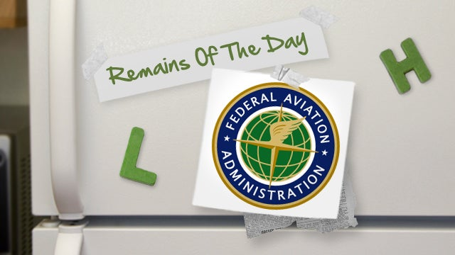 Remains of the Day: The FAA Reconsiders Rules for Electronic Devices