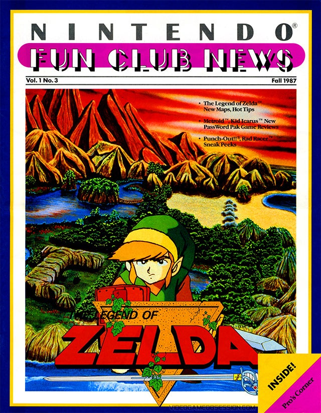 Remembering Nintendo's Other 1980's Magazine, The Nintendo Fun Club