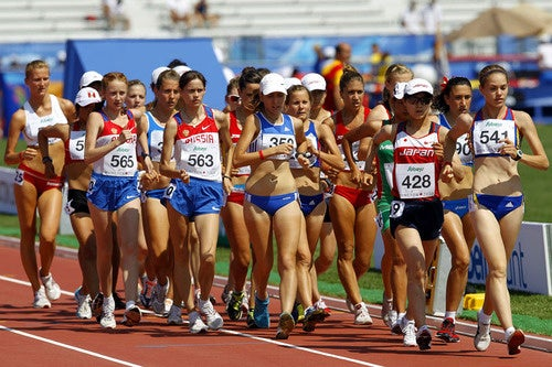 Equal-Opportunity Thighlights: Serious Athletes Take To The Track