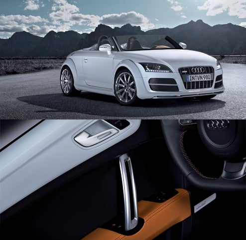 Audi TT Clubsport Quattro Interior Defies Meme, Made Mit Aluminum Und Orange?!