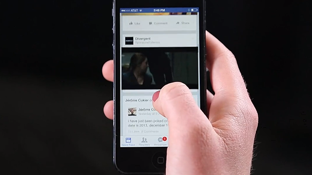 Facebook Begins Testing Auto-Playing Video Ads