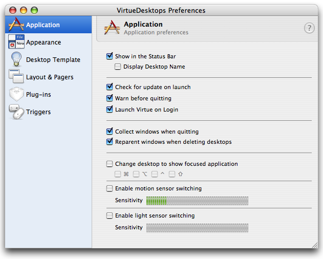 Screenshot Tour: Manage your virtual desktop with Virtue Desktops