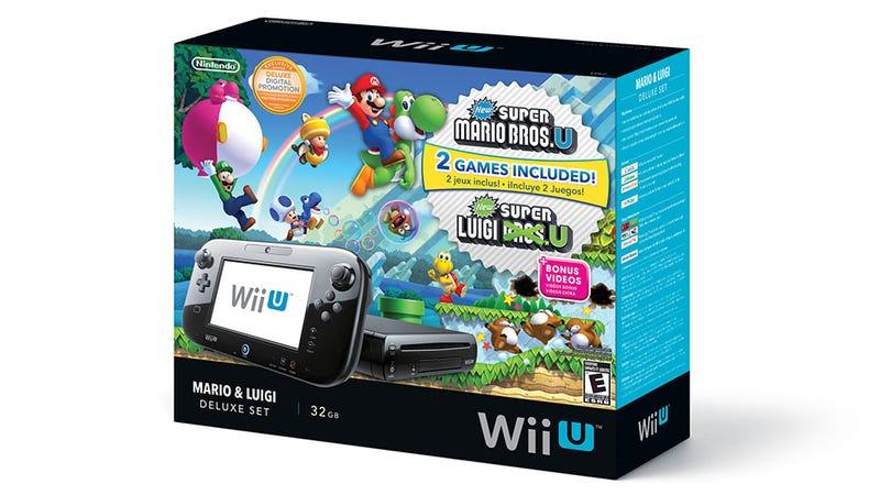 New Wii U Bundle Includes Mario and Luigi Pack-In, Not Nintendo Land