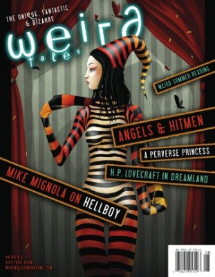 Weird Tales Magazine starts a whole new weird journey