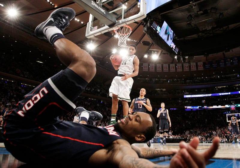 UConn Tumbles Into The Final Four