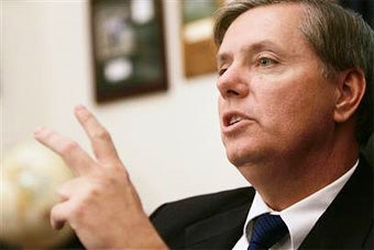 President Lindsey Graham Almost Done Closing Guantanamo, Reopening It in America