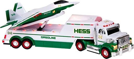 The 2010 Hess Toy Truck featured a freakin' F-22