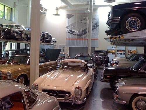 Inside Mercedes-Benz's Classic Treasure Trove