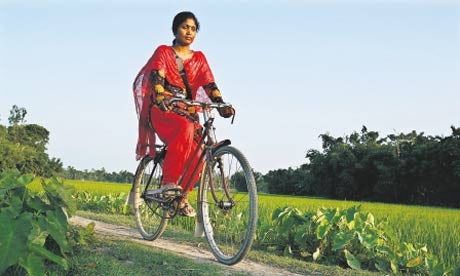The InfoLadies of Bangladesh, Armed With Bicycle and Netbook