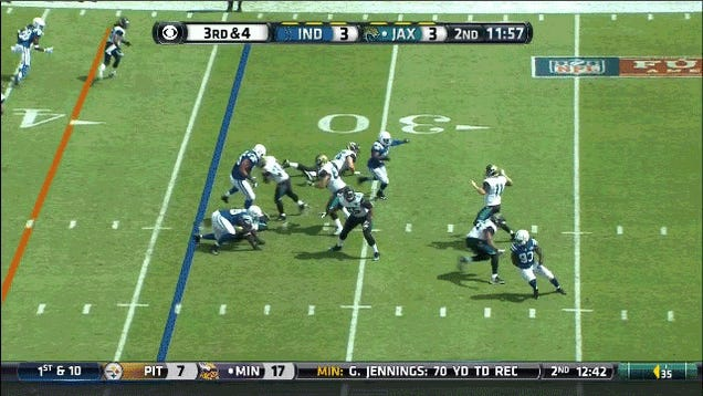 Can You Guess The Result Of This Blaine Gabbert Pass?