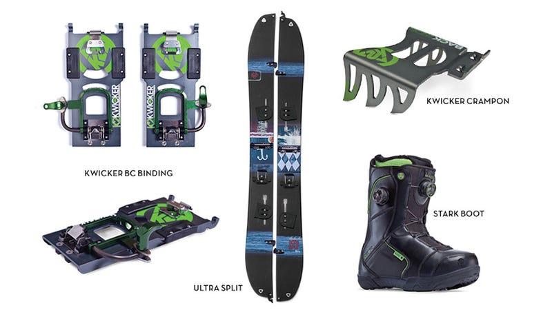 K2's Kwicker Splitboard Is the Stuff of Backcountry Powder Dreams