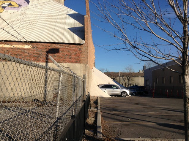 Salt Storage Warehouse Collapses, Chicagoans Unfazed