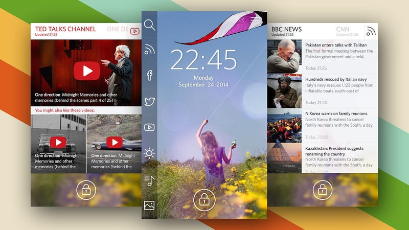 Start Is a Smart, Customizable Lock Screen for Android