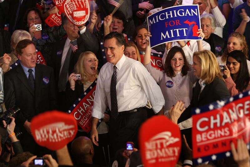 Mitt Romney Changes Tune When It Comes To Michigan