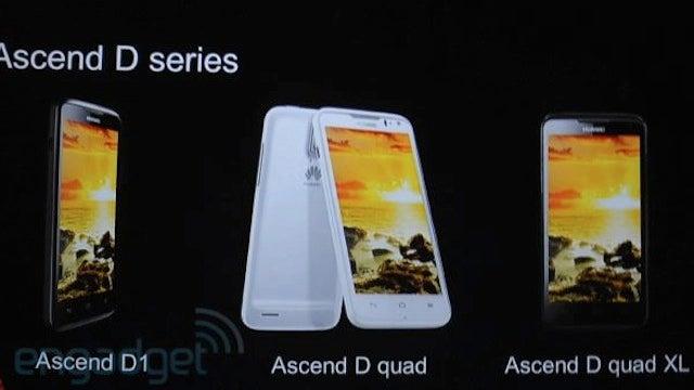 Huawei's Ascend D Quad Phone Looks Ferocious