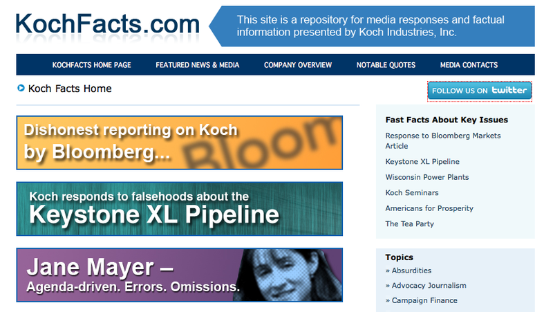 The Koch Brothers Are Advertising Their Anti-Journalism Site on Pro-Journalism Sites