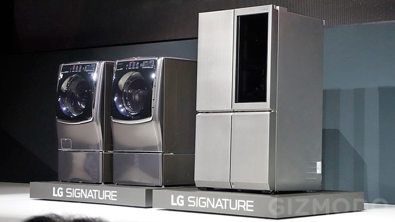 Hands Too Filthy? You Can Open LG's New Fridge With a Foot Tap