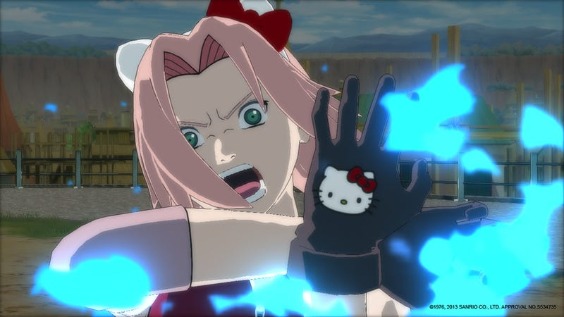 Hello Kitty Sakura is Justification For Every Frivilous Piece of DLC Ever