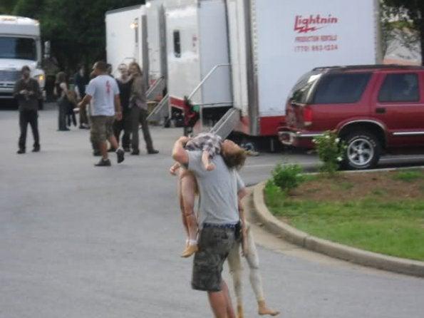 The Walking Dead set photos