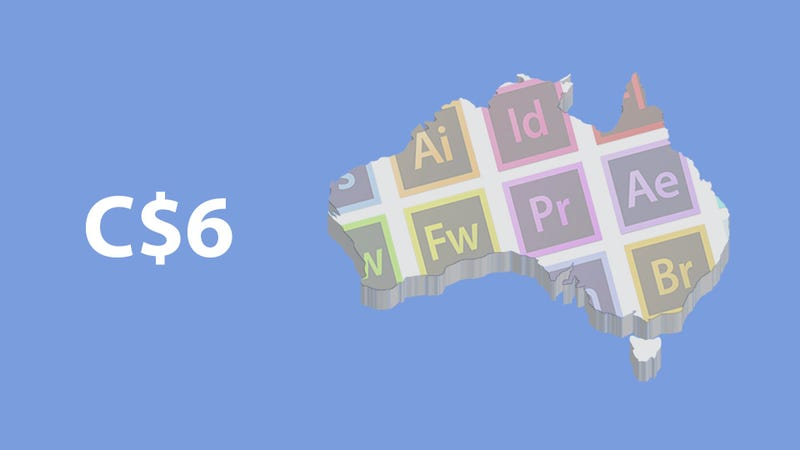 It's Less Expensive to Fly to the US and Buy Adobe CS6 Than to Buy It in Australia