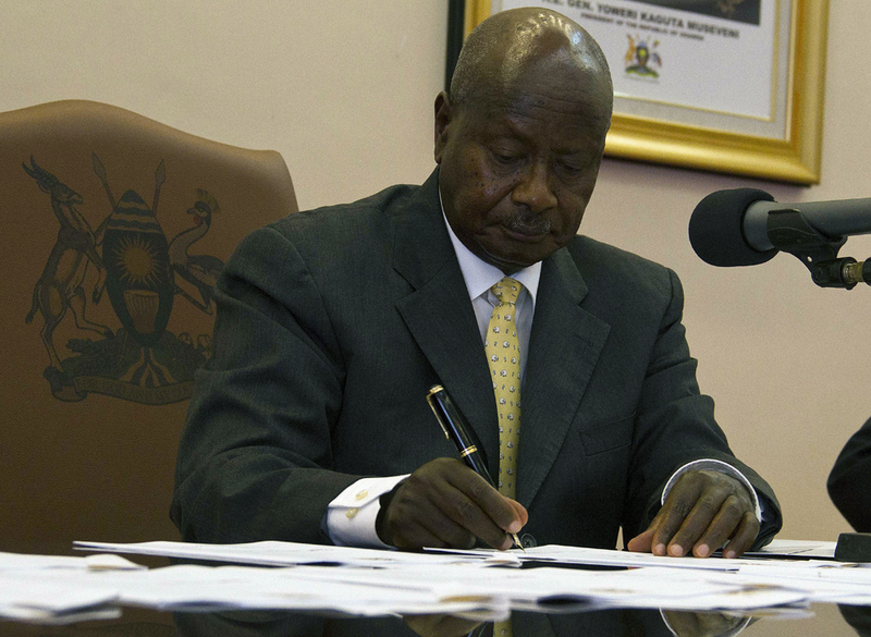 "Ugandan President Signs ""Jail the Gays"" Bill"