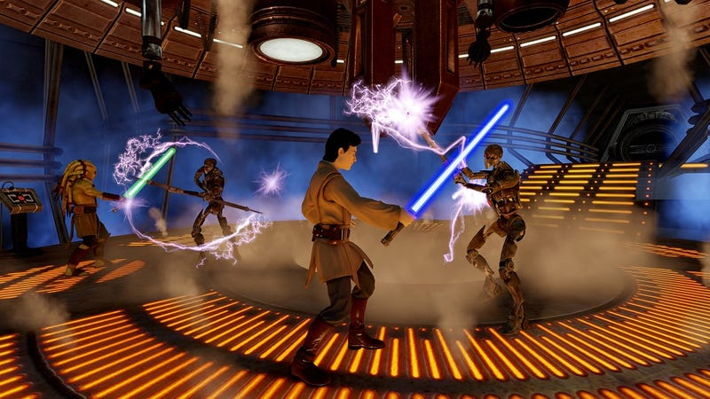 Kinect Star Wars Adds a Sense of Misplaced Gravitas To Jedi Fights