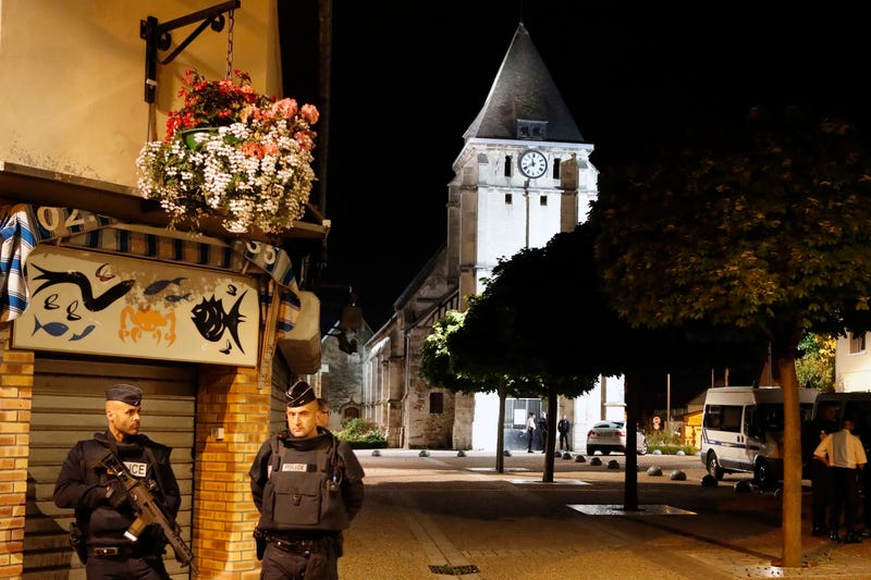 French Priest's Killer Was Arrested and Released Twice Trying to Join the Islamic State in Syria