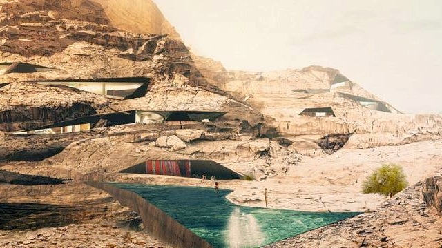 This is What a Resort Carved Into a Mountain Looks Like