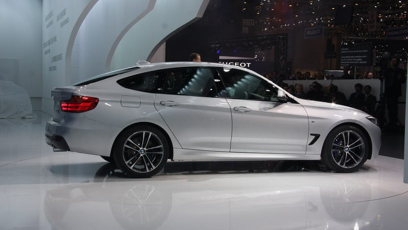 The BMW 3-Series GT Showing Its Butt In Geneva