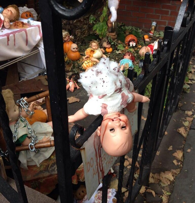 Yes, Virginia, Some Halloween Decorations Are Too Scary