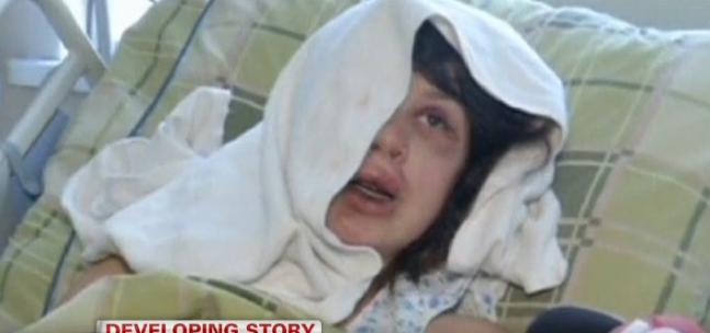 Female Ukrainian Activist and Journalist Beaten Near Kiev