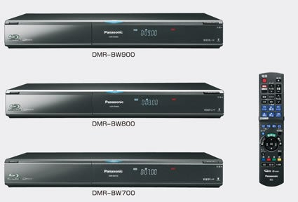 Panasonic DMR-BW900 Blu-ray Recorder Writes to 50GB Dual Layer Discs or a TB of HDD
