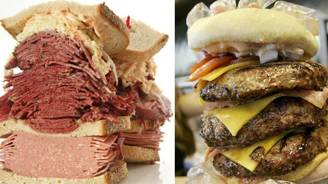 Two Restaurants Duke It Out in Court Over Right to Sell Heart Attack Inducing Food