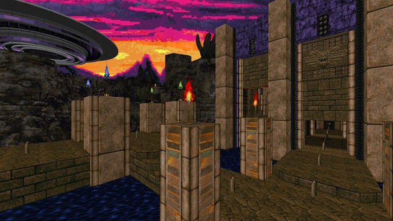 Mod Turns Doom Into An Ancient Alien World