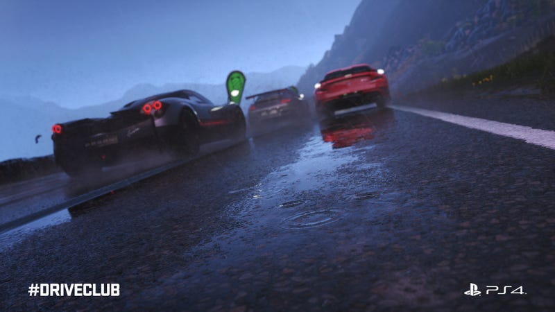 Driveclub Has Amazing Rain