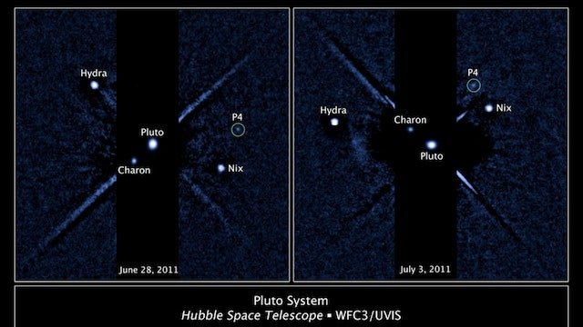 Meet Pluto's New Moon